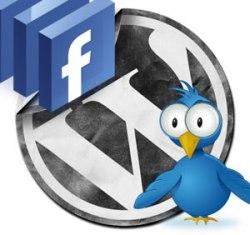 wordpress-facebook-twitter