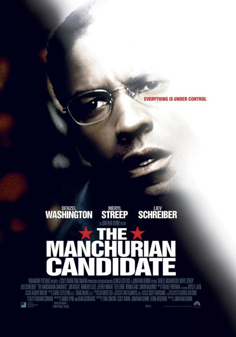 The Manchurian Candidate 2004 Cover Denzel Washington