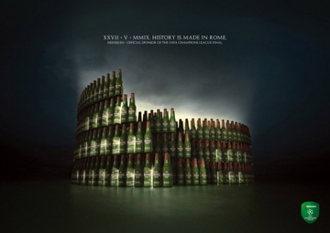 Heineken – History is made in Rome