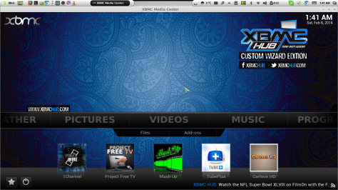 XBMC Media Center (Watch all the live tv channels, movies and TV shows for free )